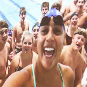 Swim Team Selfie