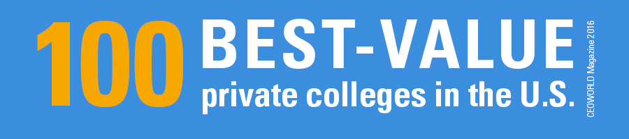 100 Best-Value private colleges in the U.S., CEOWorld Magazine 2016