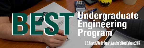 Best Undergraduate Engineering Program, U.S. News & World Report, America's Best Colleges 2017