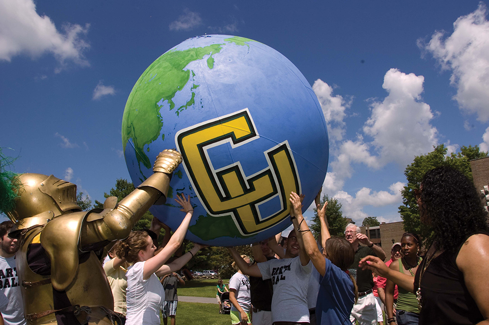 Clarkson students move the world with the Golden Knight