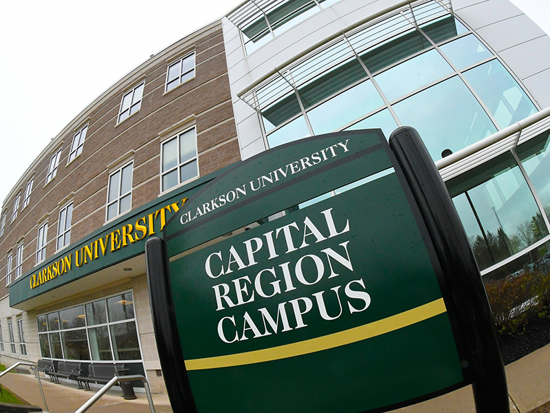 Clarkson's Capital Region Campus is located in Schenectady, New York and is home to graduate programs.