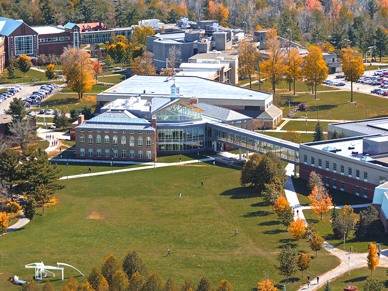 Clarkson University's main campus is located on 640 acres in Potsdam, New York and is home to undergraduate and graduate programs