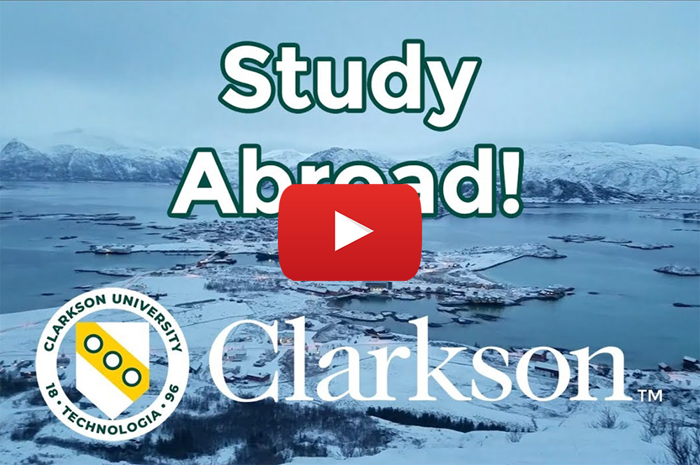 Study abroad at Clarkson University.