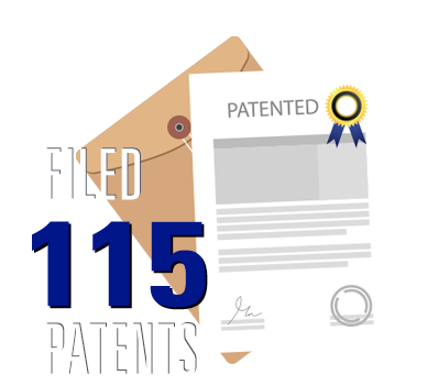 The Shipley Center has filed 115 patents