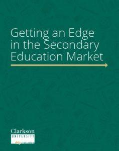 MAT E-Book: Getting and Edge in the Secondary Education Market