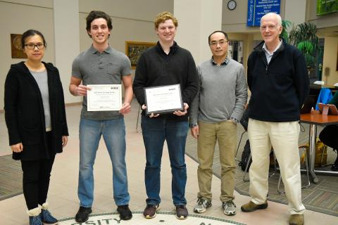 IEEE Scholarship winners