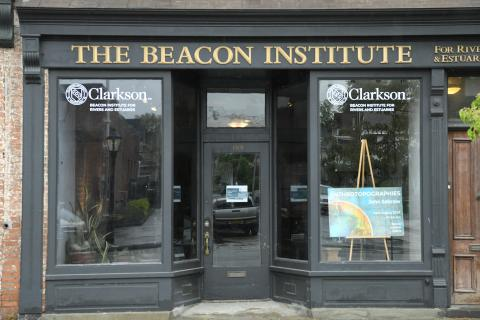 Clarkson University's Beacon Institute for Rivers and Estuaries hosts a Gallery on Main Street in Beacon, New York