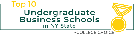Infographic: Top 10 Undergraduate Business Schools in NY State