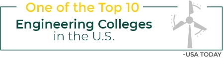 Infographic: One of the Top 10 Engineering Colleges in the US