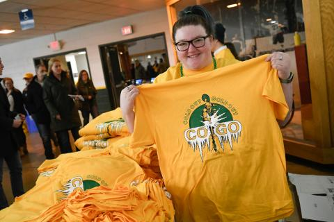 Clarkson hosts the annual Cold Out Gold Out events every winter.
