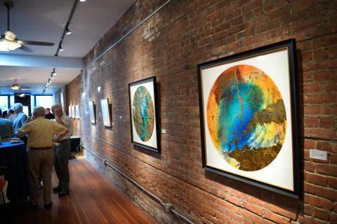 The Beacon Institute for Rivers and Estauaries hosts an Art Gallery at its Main Street location in Beacon, NY.