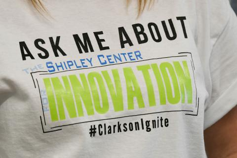 Clarkson Ignite hosts an annual Ignite Fest and oversees The Shipley Center for Innovation