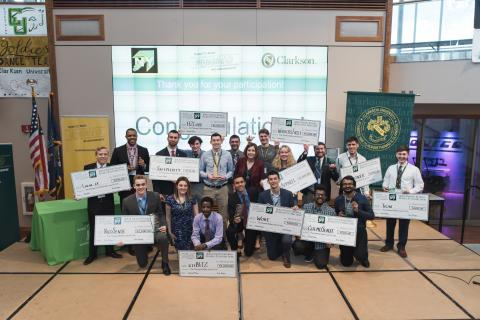 Clarkson Ignite hosts the North Country Regional Business Plan Competition, in which college students compete for cash prizes based on their innovations, business plans and ideas.