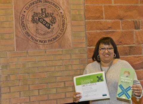 Clarkson Service Excellence - Employee of the Month, Patrice Cole