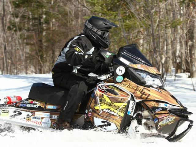 SPEED Clean Snowmobile