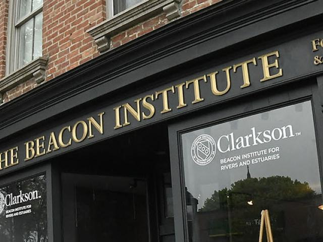 Beacon Institute for Rivers and Estuaries located on Main Street in Beacon New York