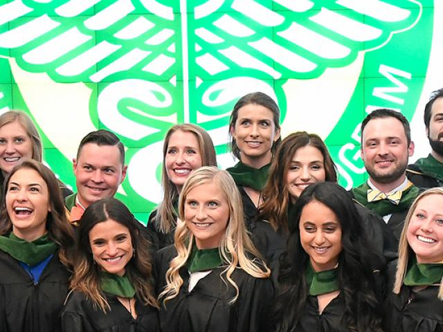 Clarkson University Physician Assistant studies graduate program graduation