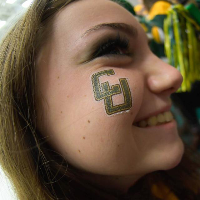 Clarkson University Face Tatoo